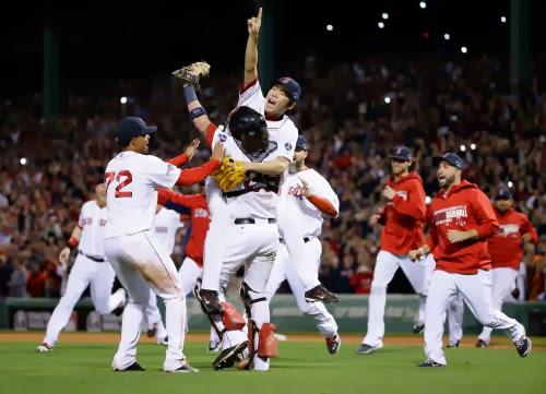 Red Sox 2013, cerca del festejo más grande del año. ||| Foto tomada de thekatekhronicles.blogspot.com