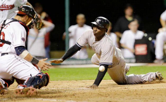 Yankees e Indians batallaron por varias horas. /// Foto tomada de seattlepi.com