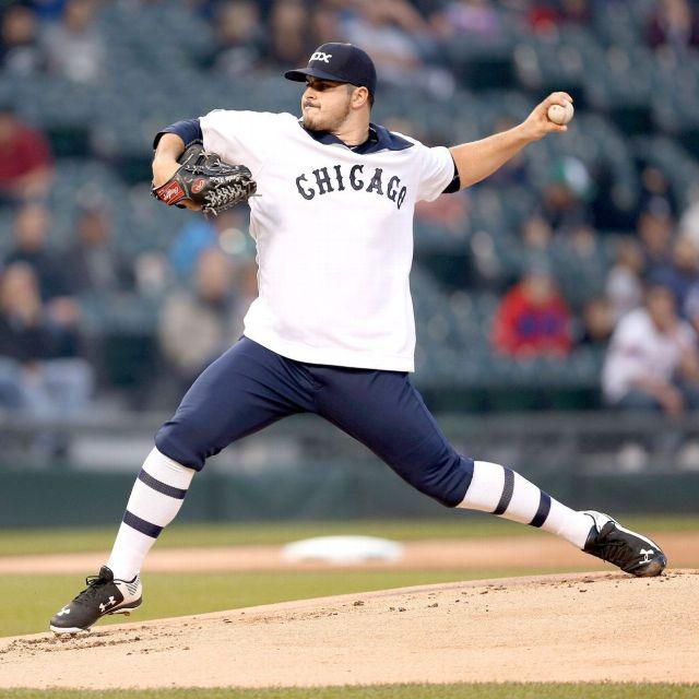 Con este uniforme jugaron los White Sox. Lo usaban en los años 70. /// Foto tomada de demanjo.com