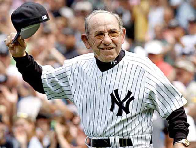 Yogi Berra, leyenda de Yankees y del béisbol. /// Foto tomada de monetate.com
