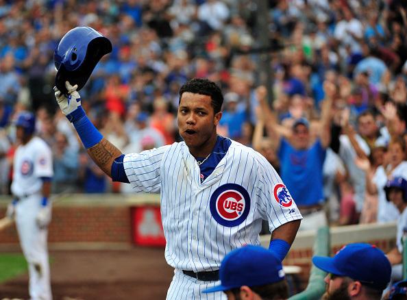 Starlin Castro llevó a los Cubs a derrotar a los Cardinals. /// Foto tomada de wgntv.com