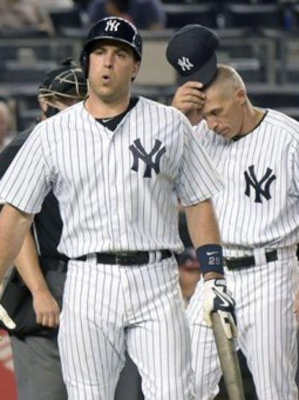 Mark Teixeira se sumó a Nathan Eovaldi, bajas importantes de los Yankees para lo que resta de la temporada. /// Foto tomada de lohud.com